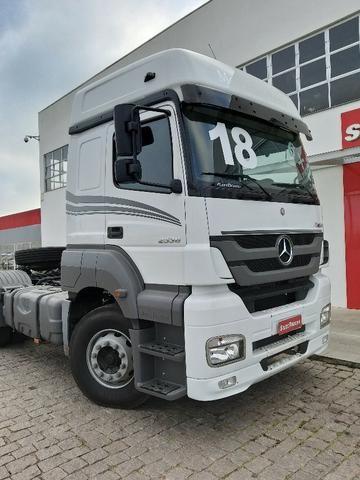 Mercedes-benz Axor 2536 Teto Alto - Selectrucks - Foto 4