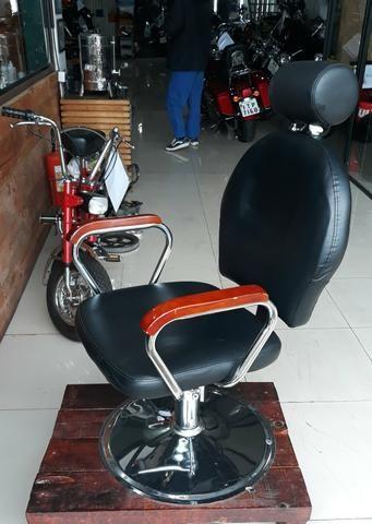 Cadeira de barbearia