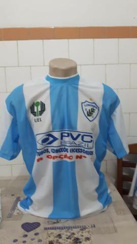 Camisa De Jogador Londrina Karilu Tam G S/ Número Dirigente - Somente Venda !!!!