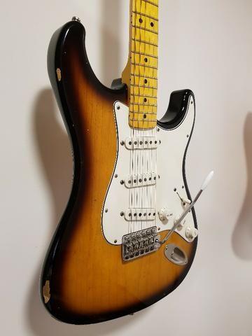 Lsl Instruments Saticoy Stratocaster Swamp Ash Two Tone - Foto 3
