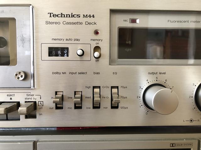 Tape Deck Technics M44