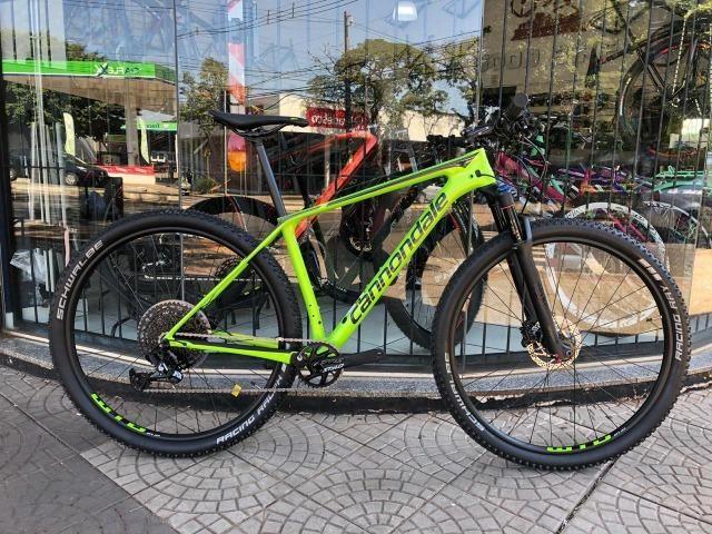 Bicicleta Cannondale F-Si Carbon 5 c/ kit NX Eagle 1X12v 2019 Nova!