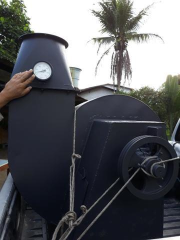 Exaustor de secador de café