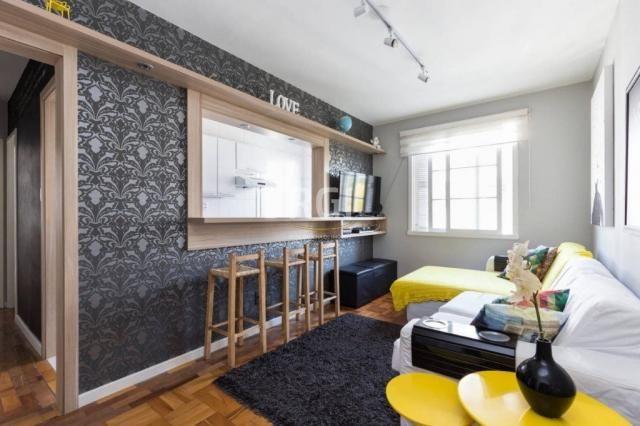 Apartamento à venda com 1 dormitórios em São joão, Porto alegre cod:HT207 - Foto 2
