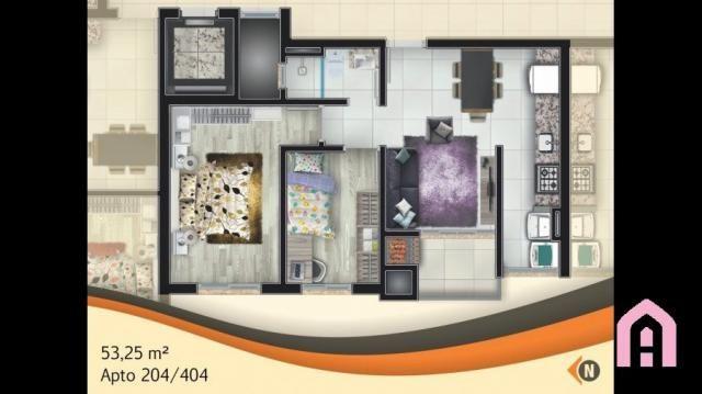 Apartamento à venda com 2 dormitórios em São josé, Flores da cunha cod:143 - Foto 11