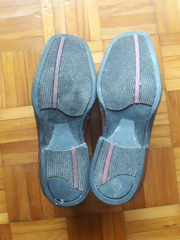 Sapato de couro tam 44 - Foto 2