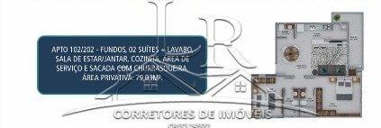 Apartamento à venda com 2 dormitórios em Ingleses do rio vermelho, Florianópolis cod:1761 - Foto 6