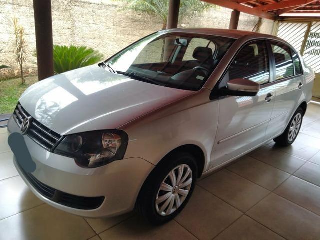 Polo Sedan 2012/2013 1.6 Prata Única dona Impecável - Foto 4