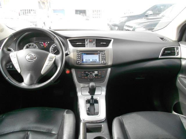 Nissan sentra sl 2.0 flex automatico cvt 2014/2014 completo revisado file - Foto 8