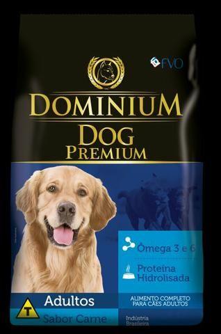 Ração Dominium Dog Premium Adulto 15kg e 25kg