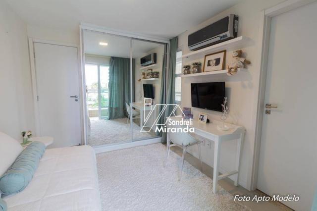 Imperator apartamento com 3 dormitórios à venda, 138 m² por r$ 950.000 - guararapes - fort - Foto 15