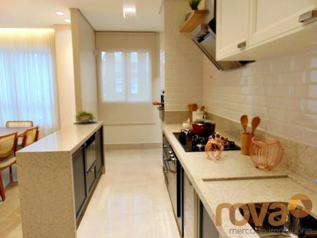 Apartamento à venda com 3 dormitórios em Setor marista, Goiânia cod:NOV235626 - Foto 6