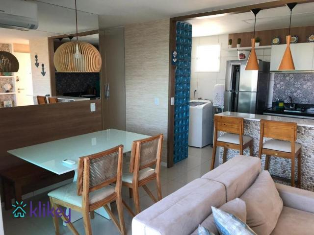 Apartamento à venda com 3 dormitórios em Engenheiro luciano cavalcante, Fortaleza cod:7418 - Foto 7