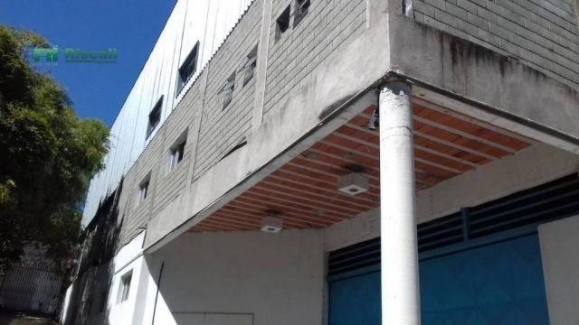 Galpão à venda, 1400 m² por r$ 2.200.000 - jardim tomé - embu das artes/sp - Foto 7