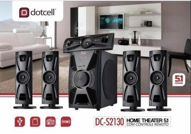 Home Theater 5.1 Dotcell Dc-2130 Bluetooth - Fm - Foto 3