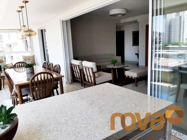 Apartamento à venda com 3 dormitórios em Setor bueno, Goiânia cod:NOV235705 - Foto 3