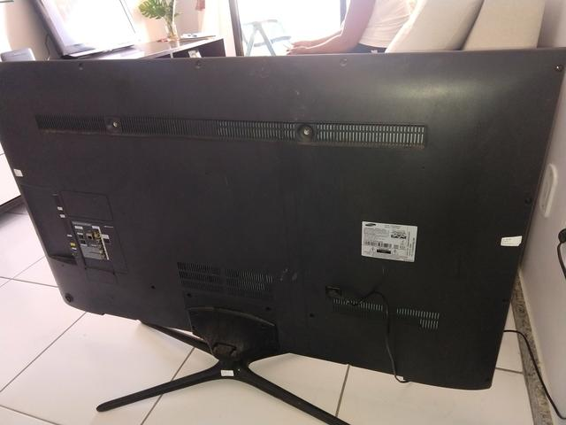 TV 55,POL,R$,350 led ultra fina - Foto 2