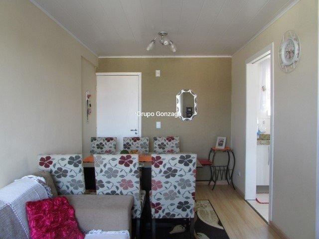 Apartamento à venda com 2 dormitórios em Cidade industrial, Curitiba cod:602 - Foto 4