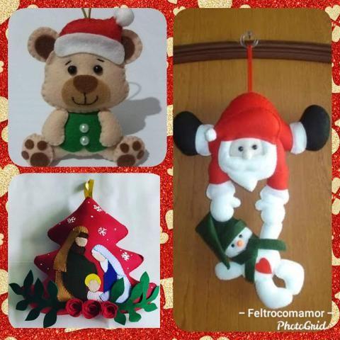 Artigos natalinos em feltro - Foto 3