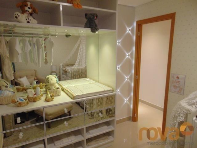 Apartamento à venda com 3 dormitórios em Setor pedro ludovico, Goiânia cod:NOV91510 - Foto 11