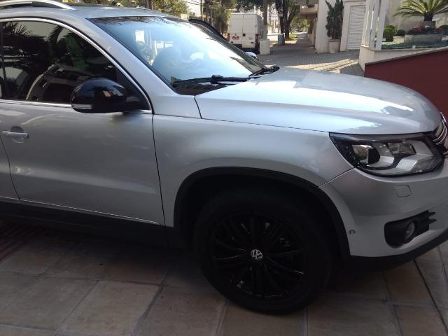 Vw - Volkswagen Tiguan ? 2014- Teto Panorâmico - Xênon-Prata