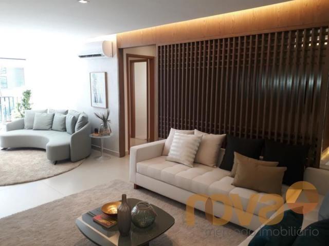 Apartamento à venda com 3 dormitórios em Setor marista, Goiânia cod:NOV89112 - Foto 4