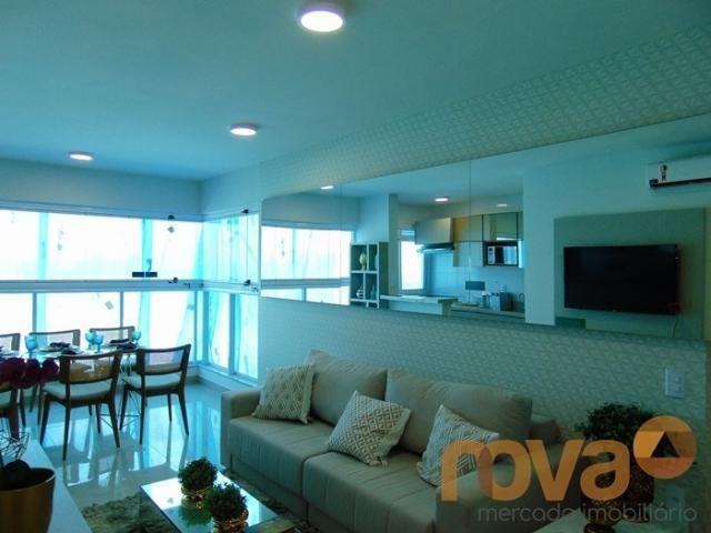 Apartamento à venda com 2 dormitórios em Setor bueno, Goiânia cod:NOV88059 - Foto 2