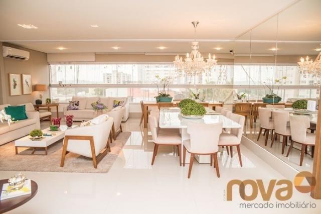 Apartamento à venda com 3 dormitórios em Setor bueno, Goiânia cod:NOV235442 - Foto 2