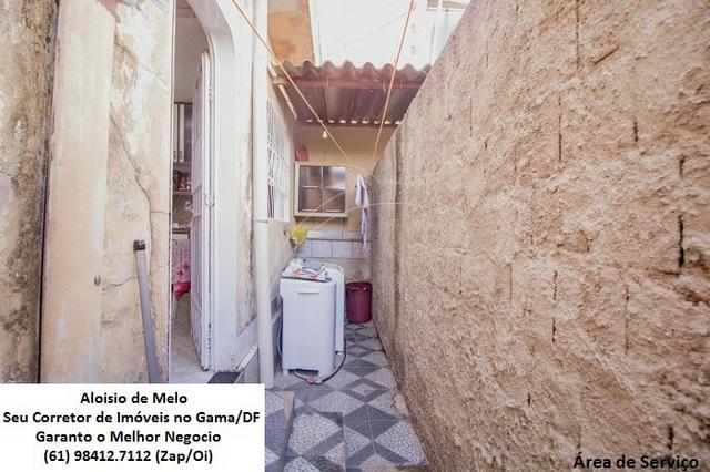 Aloisio Melo Vde: Q. 33 S/Leste, 2 Casas; Sala, Cozinha, 3 Qtos, Ac. Financiamento/FGTS - Foto 7