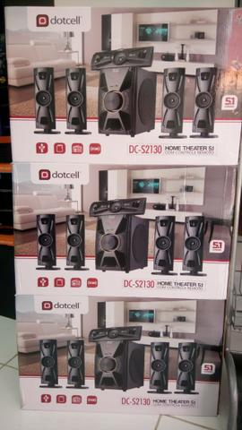 Home Theater 5.1 Dotcell Dc-2130 Bluetooth - Fm - Foto 4