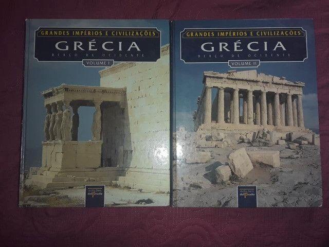 Livros Coleção Grandes Impérios e Civilizações Egito e Grécia - Foto 2