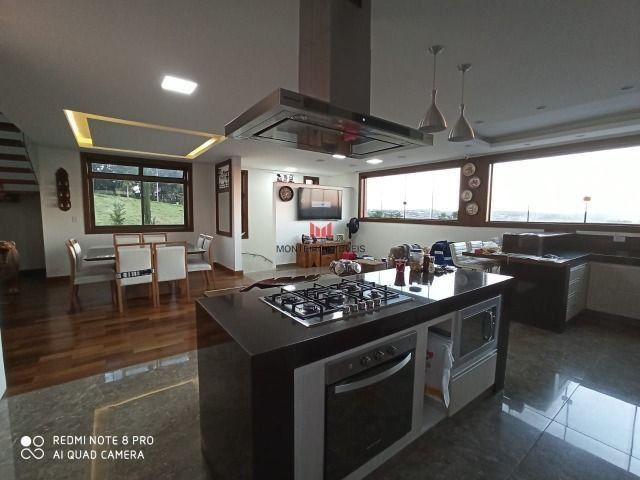 Exclusiva Casa moderna com 4 quartos sendo 3 suítes no Condomínio Alphaville Vespasiano - Foto 9
