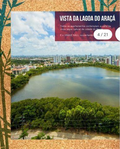 NV - Unique Hall Lagoa do Araçá 3 qts, 71m²- 81. * Whatsapp - Foto 18