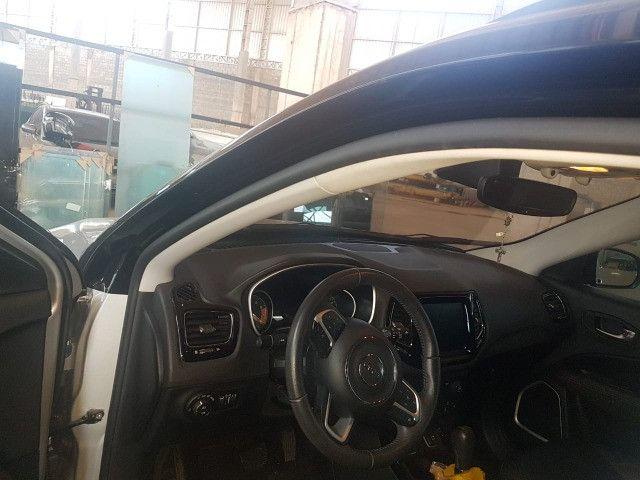 Venda/troca = Jeep Compass 2017 cor Prata em perfeito estado de conservação. - Foto 5