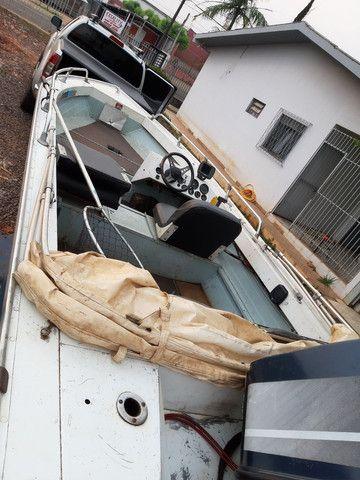Vendo barco Marajó 16 pés.. - Foto 2