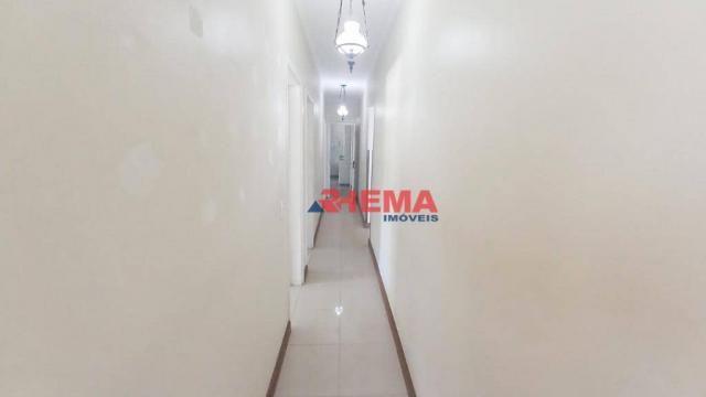 Apartamento com 3 dormitórios à venda, 146 m² por R$ 629.000,00 - Aparecida - Santos/SP - Foto 9