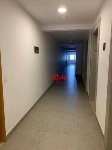 Apartamento com 2 dormitórios (1 suíte) à venda e locação, 72 m² - Gonzaga - Santos/SP - Foto 18