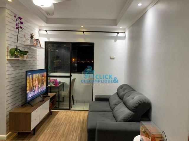 Apartamento com 1 dormitório à venda, 47 m² por R$ 215.000,00 - Estuário - Santos/SP - Foto 2