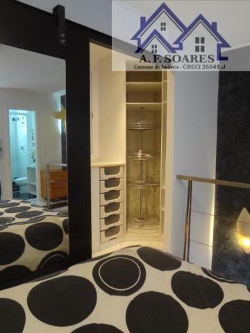 Vendo apartamento tipo loft duplex, com 69 m2, 1 dormitorio, 1 suite, 1 vaga - Foto 16