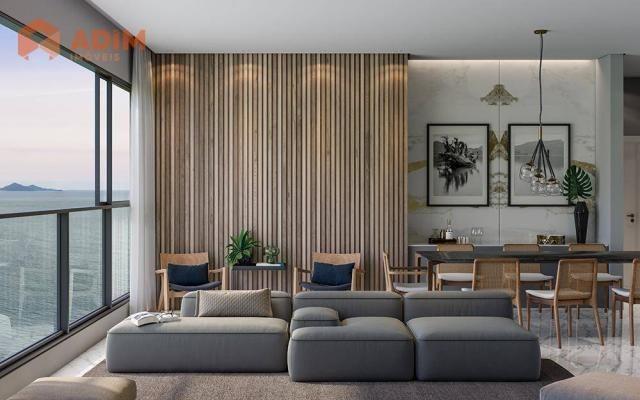 Apartamento á venda no 135 Jardins em Balneário Camboriú, com 04 suítes, amplo living e ch - Foto 3