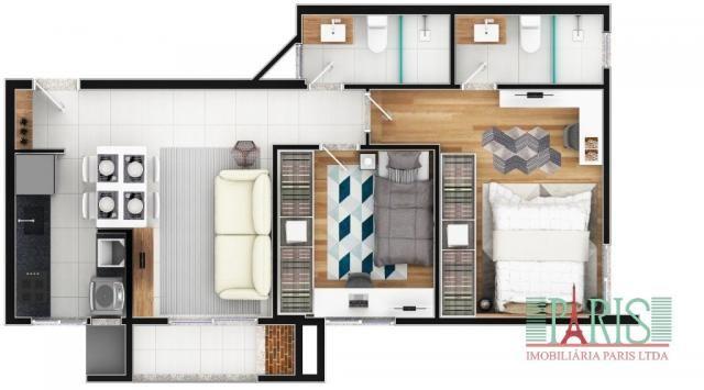 Apartamento à venda com 2 dormitórios em Iririú, Joinville cod:367 - Foto 8
