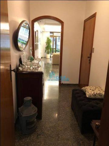 Apartamento com 4 dormitórios à venda, 248 m² por R$ 1.064.000,00 - Boqueirão - Santos/SP - Foto 4