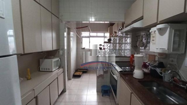 Apartamento com 2 dormitórios à venda, 74 m² por R$ 350.000,00 - Campo Grande - Santos/SP - Foto 11