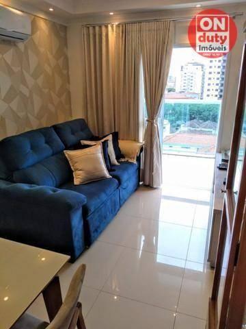 Apartamento Garden com 2 dormitórios à venda, 70 m² por R$ 475.000,00 - Aparecida - Santos - Foto 4