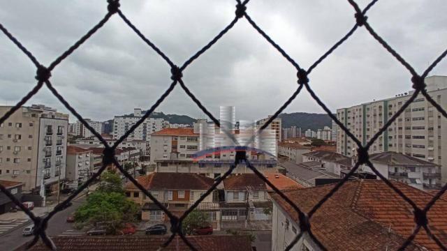 Apartamento com 2 dormitórios à venda, 74 m² por R$ 350.000,00 - Campo Grande - Santos/SP - Foto 8