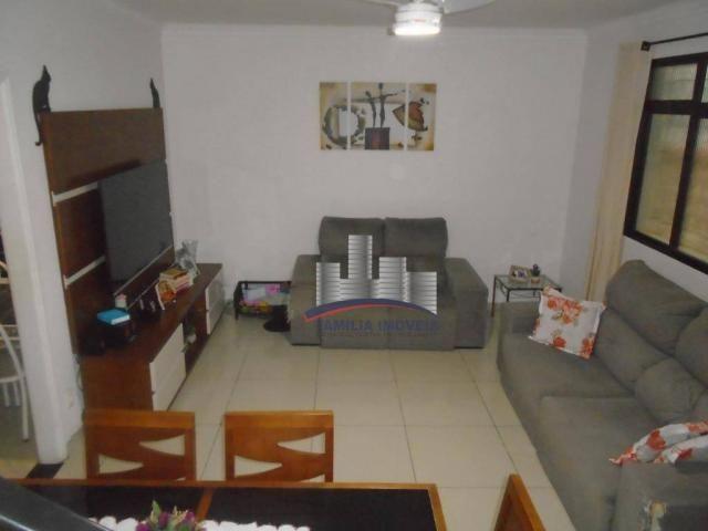 Sobrado com 3 dormitórios à venda por R$ 530.000,00 - Campo Grande - Santos/SP - Foto 3