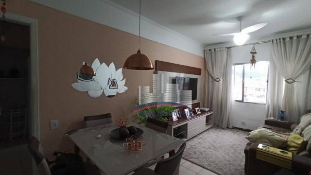 Apartamento com 2 dormitórios à venda, 74 m² por R$ 350.000,00 - Campo Grande - Santos/SP - Foto 2