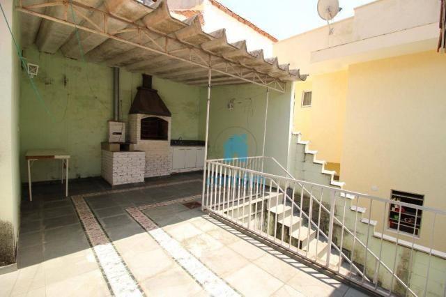 Sobrado com 3 dormitórios à venda, 250 m² por R$ 450.000,00 - Cidade das Flores - Osasco/S - Foto 12