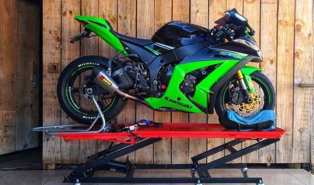 Elevador de motos de  fabrica 350 kg - zap 24horas deixe seu número