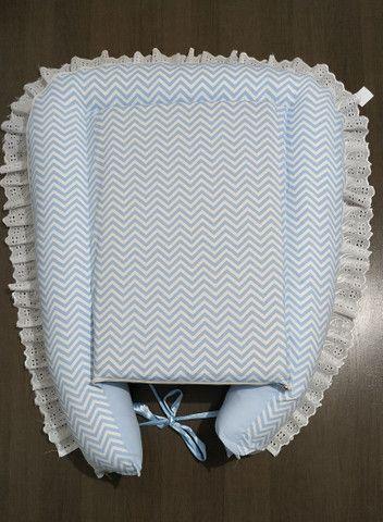 Ninho redutor de berço com almofada de amamentação - Foto 3